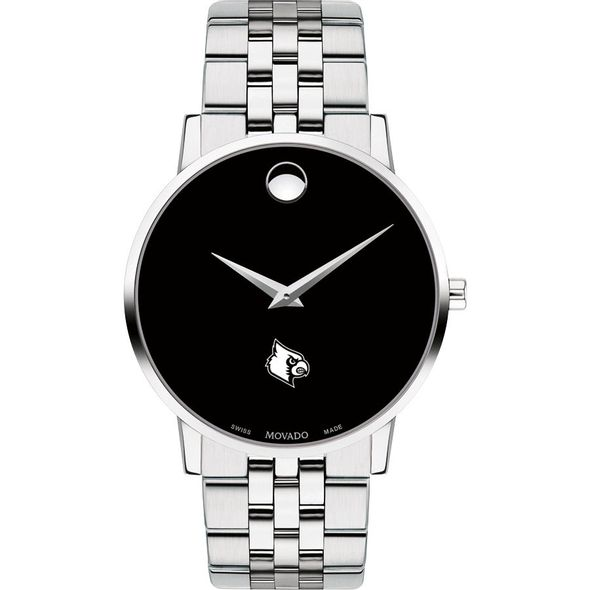 University of Louisville Men's Movado Museum with Bracelet - Image 2