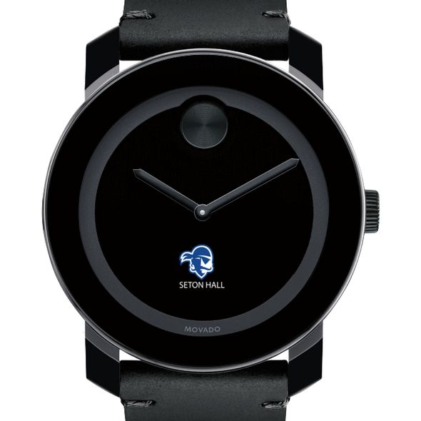 Seton Hall Men's Movado BOLD with Leather Strap - Image 1