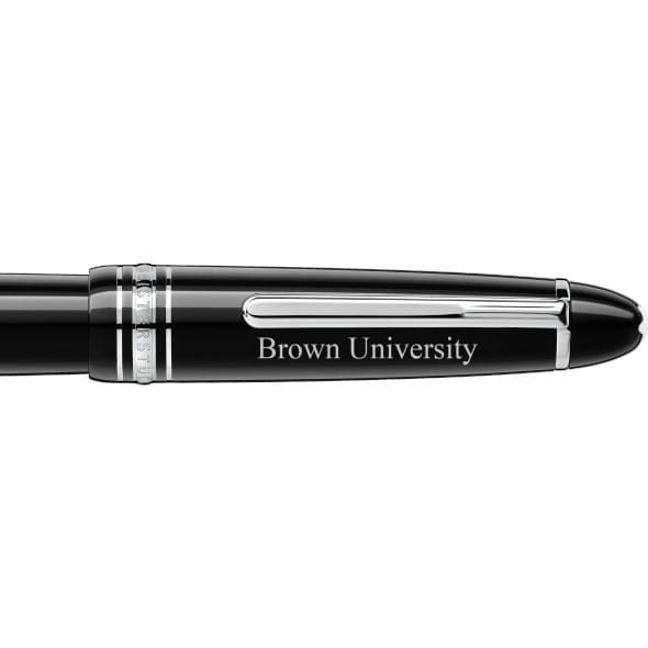 Brown Montblanc Meisterstück LeGrand Fountain Pen Platinum - Image 2