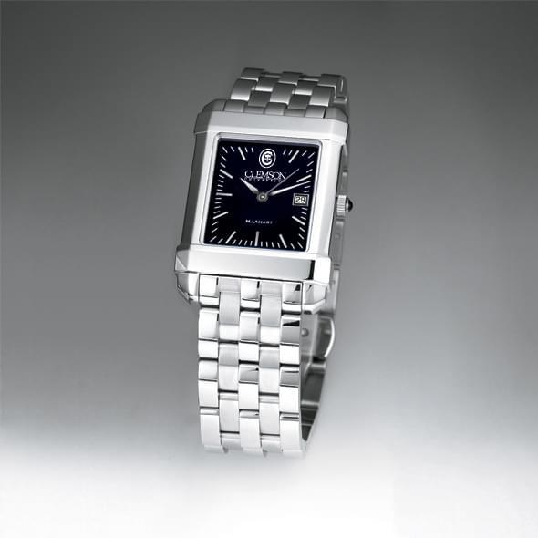 Clemson Men's Black Quad Watch with Bracelet - Image 2