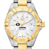 University of Georgia TAG Heuer Two-Tone Aquaracer for Women