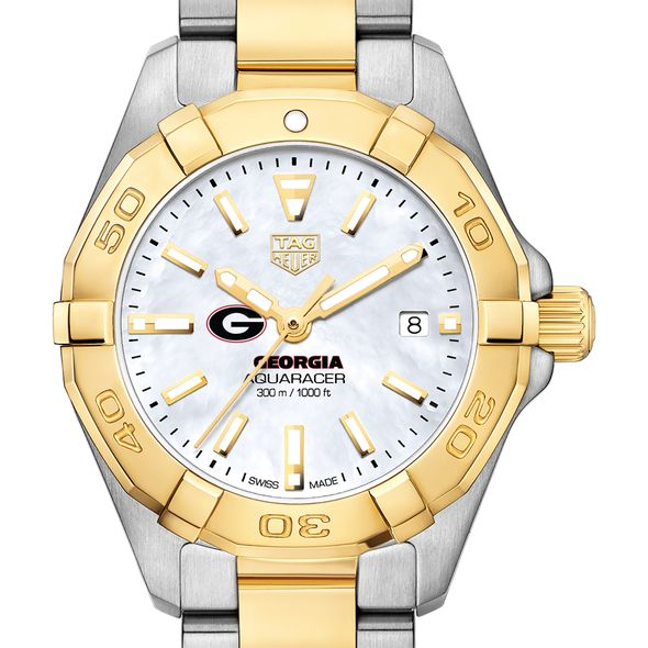 University of Georgia TAG Heuer Two-Tone Aquaracer for Women - Image 1