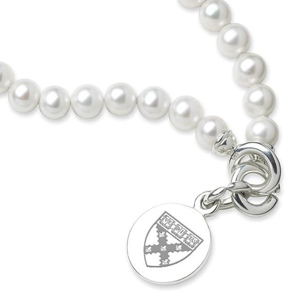 HBS Pearl Bracelet with Sterling Silver Charm - Image 2