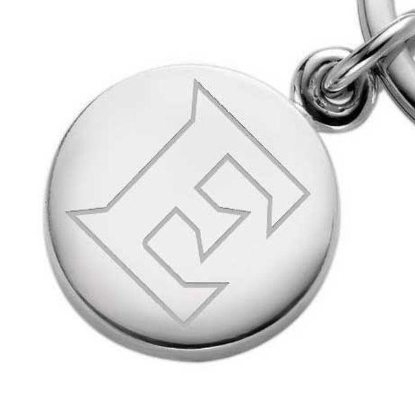 Elon Sterling Silver Insignia Key Ring - Image 2