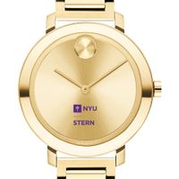 NYU Stern School of Business Women's Movado Gold Bold 34