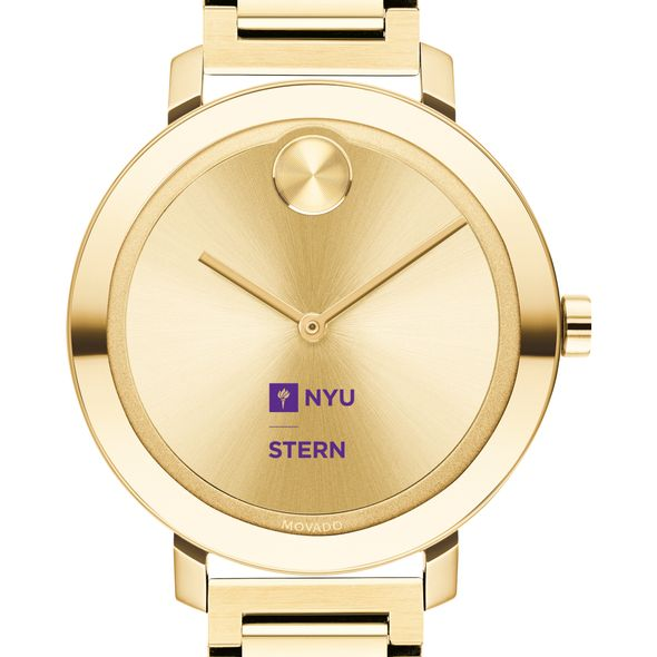 NYU Stern School of Business Women's Movado Gold Bold 34 - Image 1