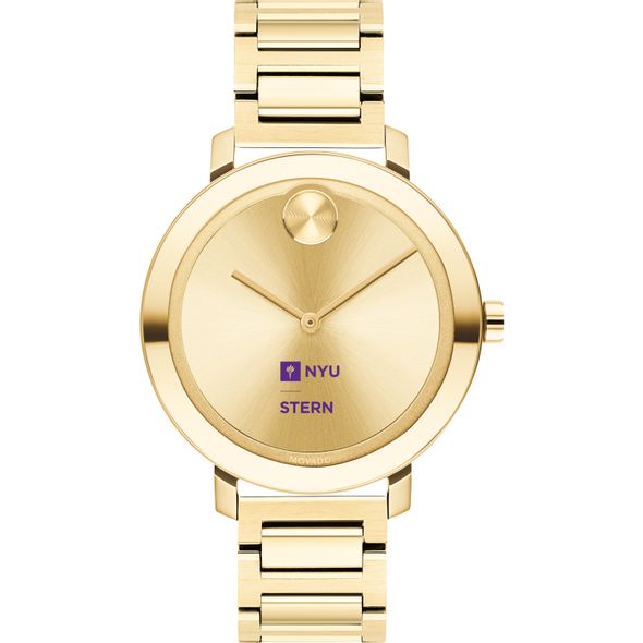 NYU Stern School of Business Women's Movado Gold Bold 34 - Image 2