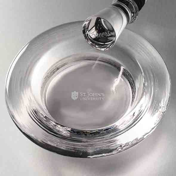 St. John's Glass Wine Coaster by Simon Pearce - Image 2