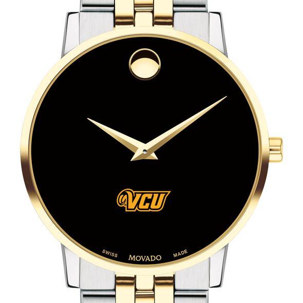 VCU Men's Movado Two-Tone Museum Classic Bracelet