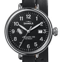 SFASU Shinola Watch, The Birdy 38mm Black Dial