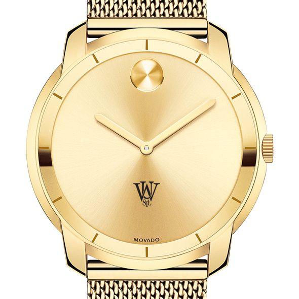 WashU Men's Movado Gold Bold 44