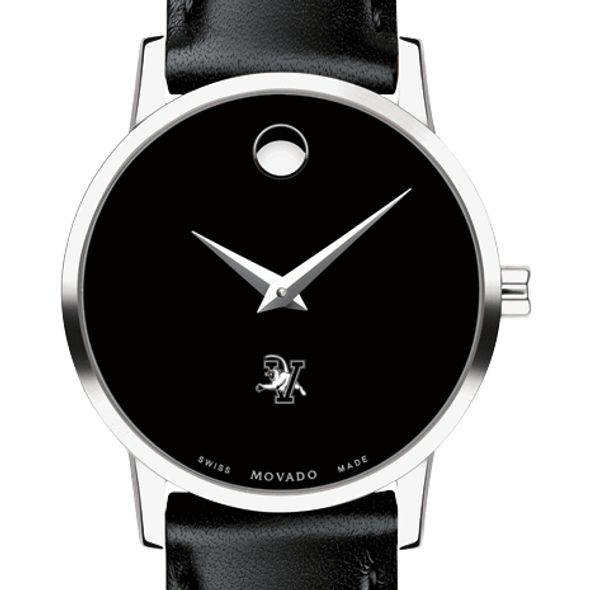 University of Vermont Women's Movado Museum with Leather Strap