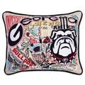 Georgia Embroidered Pillow - Image 1