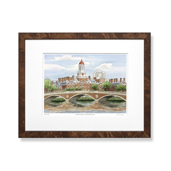 Harvard Campus Print- Limited Edition, Medium - Image 1