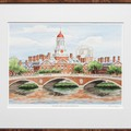 Harvard Campus Print- Limited Edition, Medium - Image 2