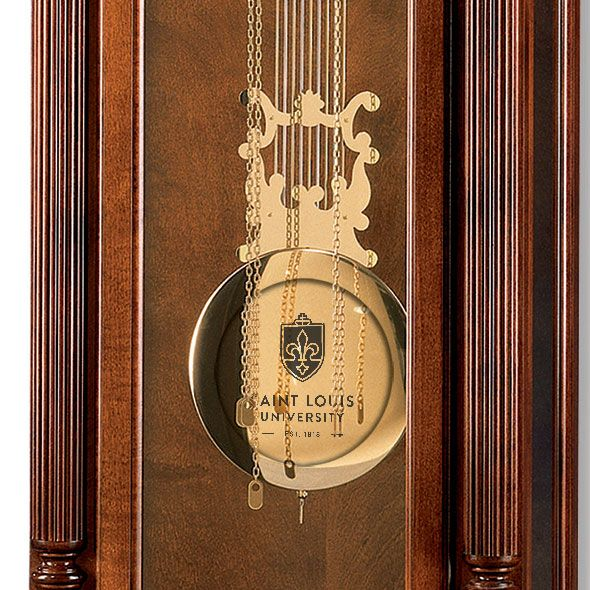 Saint Louis University Howard Miller Grandfather Clock - Image 2