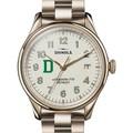 Dartmouth Shinola Watch, The Vinton 38mm Ivory Dial - Image 1