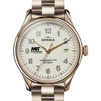 MIT Sloan Shinola Watch, The Vinton 38mm Ivory Dial