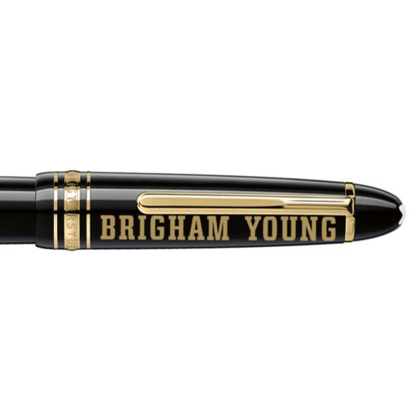 Brigham Young University Montblanc Meisterstück LeGrand Rollerball Pen in Gold - Image 2