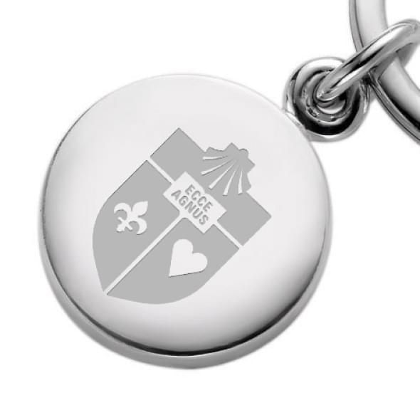 St. John's Sterling Silver Insignia Key Ring - Image 2