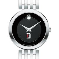 Davidson College Women's Movado Esparanza Stainless Steel Museum with Bracelet