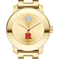 Rutgers University Women's Movado Gold Bold