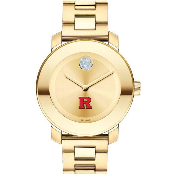 Rutgers University Women's Movado Gold Bold - Image 2