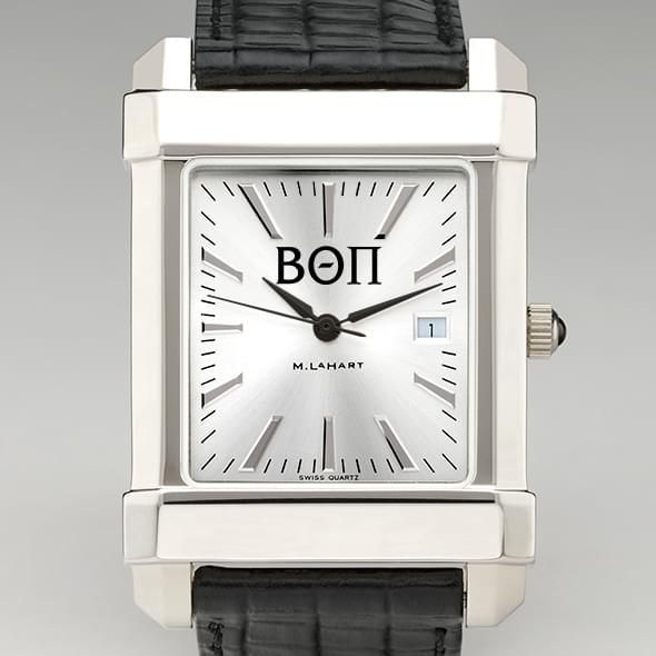 Beta Theta Pi Men's Collegiate Watch with Leather Strap
