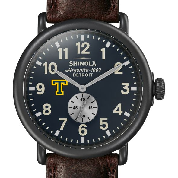 Trinity Shinola Watch, The Runwell 47mm Midnight Blue Dial