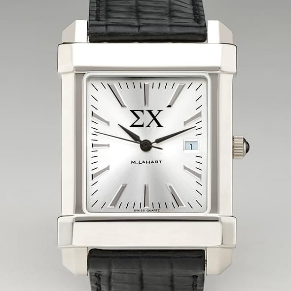 Sigma Chi Men's Collegiate Watch with Leather Strap