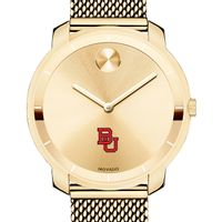 Boston University Women's Movado Gold Bold 36
