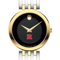 Rutgers Women's Movado Esparanza Two-Tone Museum with Bracelet