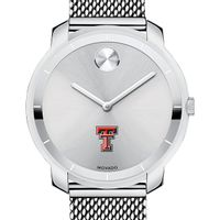 Texas Tech Women's Movado Stainless Bold 36
