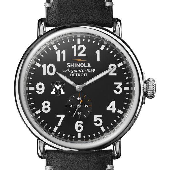 VMI Shinola Watch, The Runwell 47mm Black Dial
