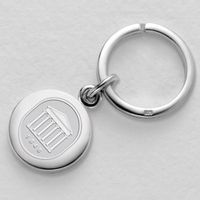 Ole Miss Sterling Silver Insignia Key Ring