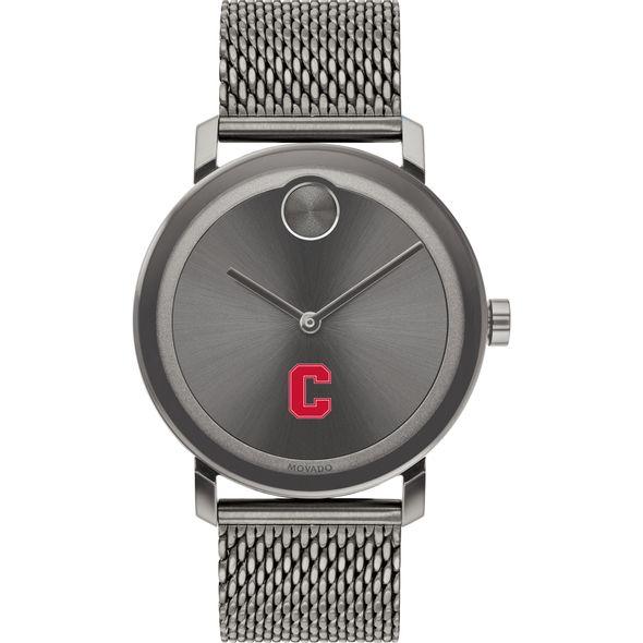 Cornell University Men's Movado BOLD Gunmetal Grey with Mesh Bracelet - Image 2
