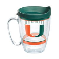 Miami 16 oz. Tervis Mugs- Set of 4