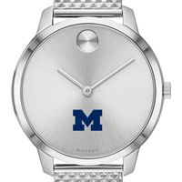 University of Michigan Women's Movado Stainless Bold 35
