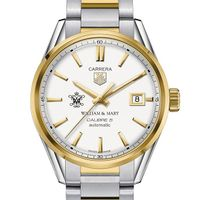 William & Mary Men's TAG Heuer Two-Tone Carrera with Bracelet