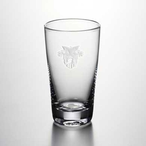 West Point Pint Glass by Simon Pearce