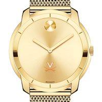 University of Virginia Men's Movado Gold Bold 44