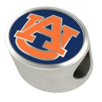 Auburn Enameled Bead in Color