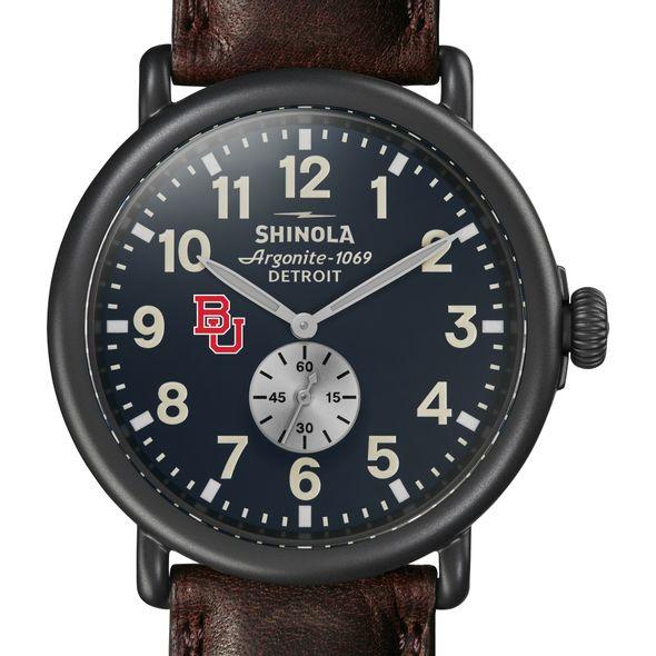 BU Shinola Watch, The Runwell 47mm Midnight Blue Dial