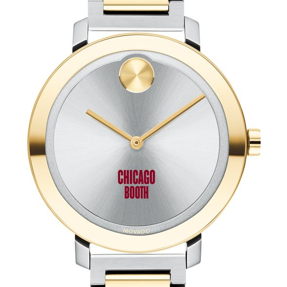 Chicago Booth Women's Movado Two-Tone Bold 34