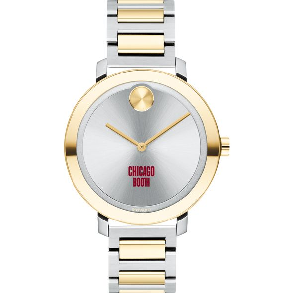 Chicago Booth Women's Movado Two-Tone Bold 34 - Image 2