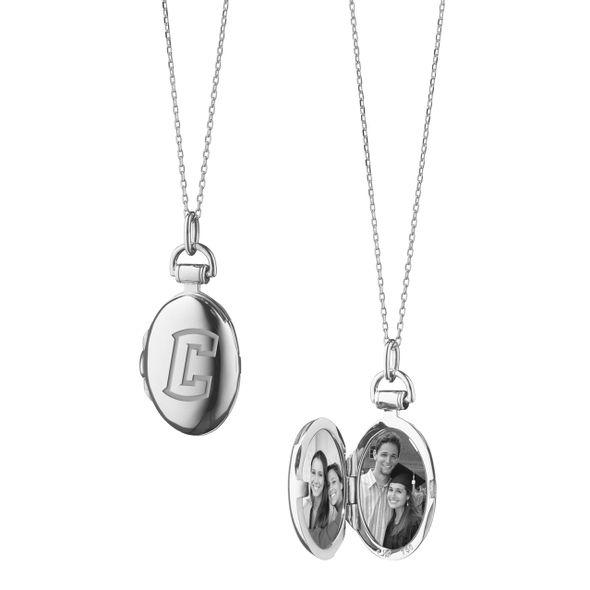 Creighton Monica Rich Kosann Petite Locket in Silver - Image 2