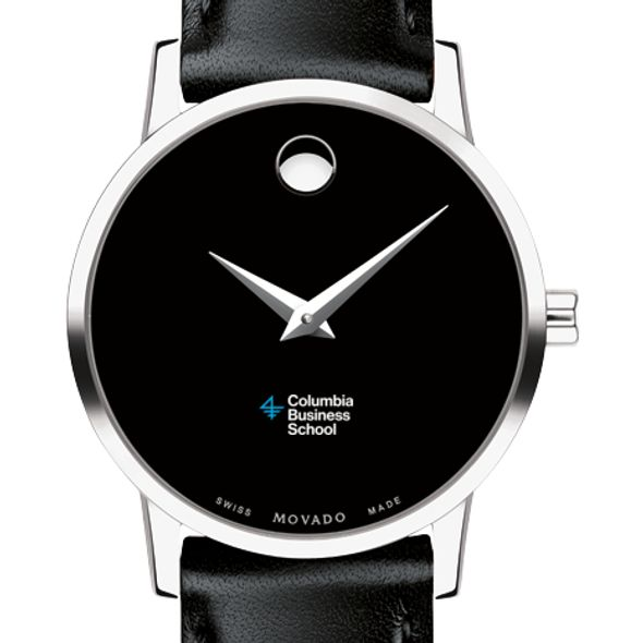 Columbia Business Women's Movado Museum with Leather Strap
