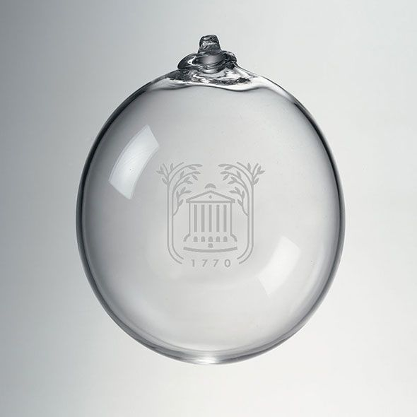 College of Charleston Glass Ornament by Simon Pearce