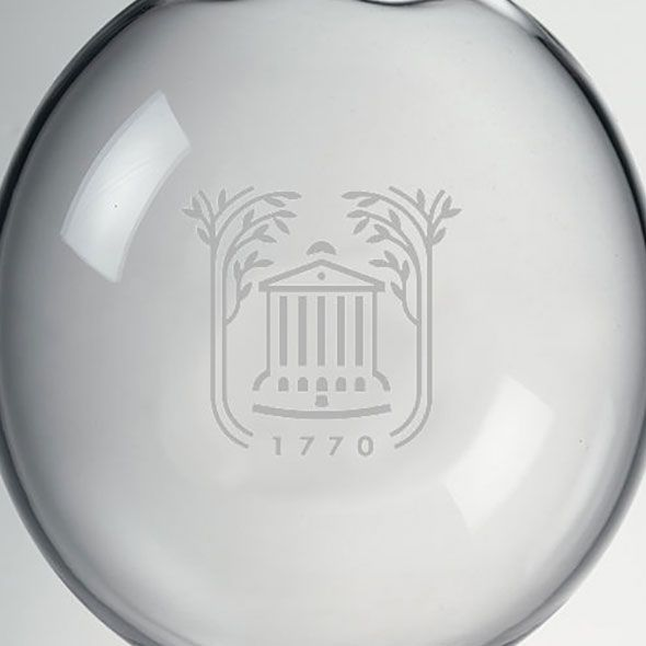 College of Charleston Glass Ornament by Simon Pearce - Image 2
