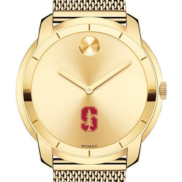 Stanford University Men's Movado Gold Bold 44